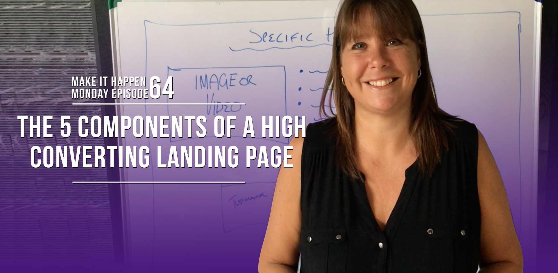MIHM 63 - The 5 Components of a High Converting Landing Page