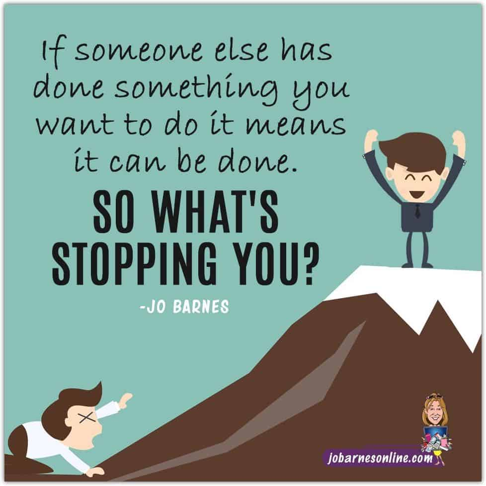 quote by jo barnes