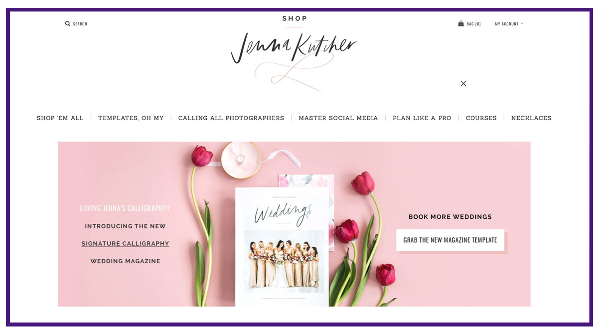 jenna kutcher online business