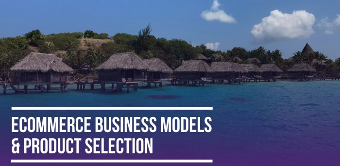 Ecommerce Business Models & Product Selection