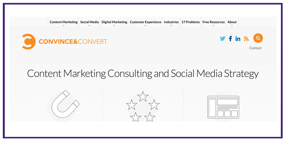 convince and convert content marketing