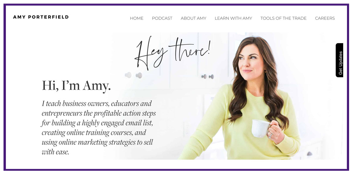 amy porterfield online business