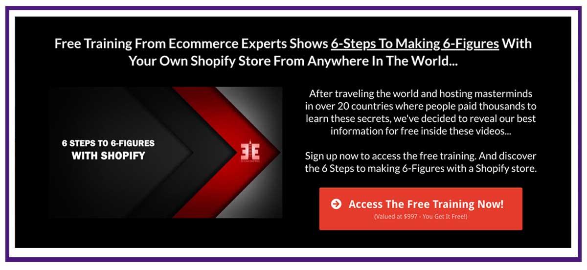ecom empires free membership site