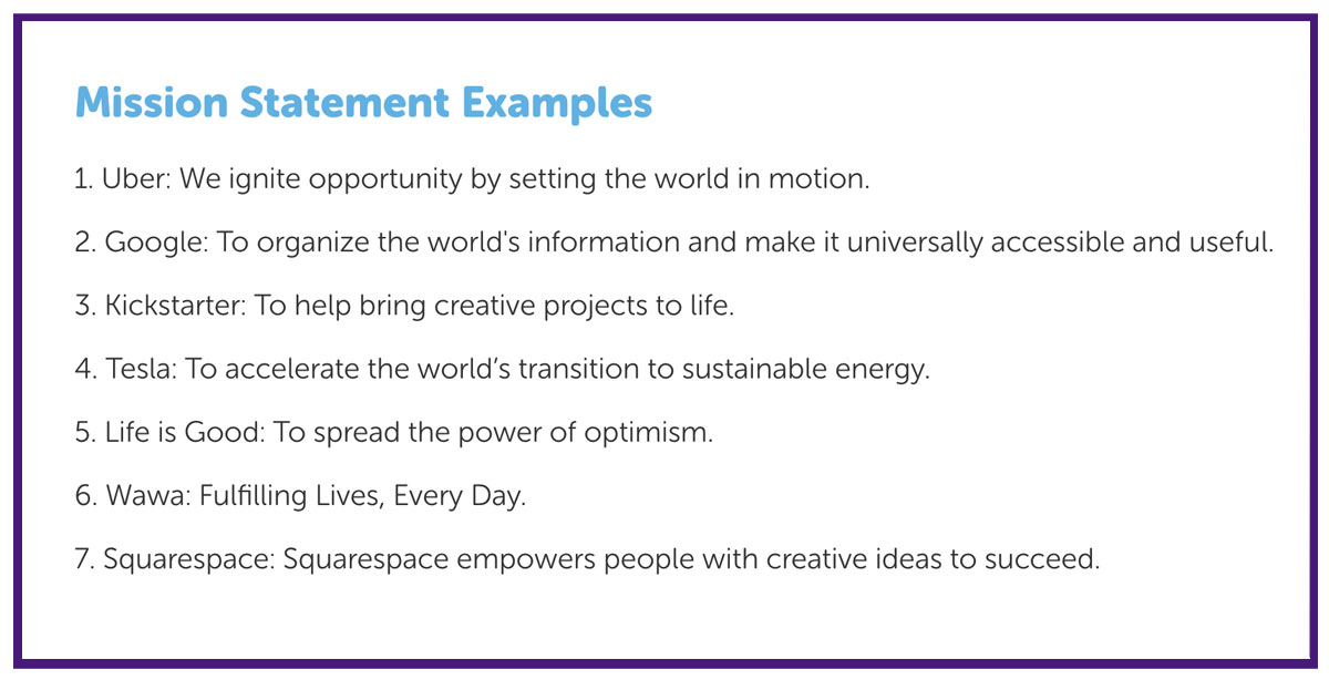 business mission statements