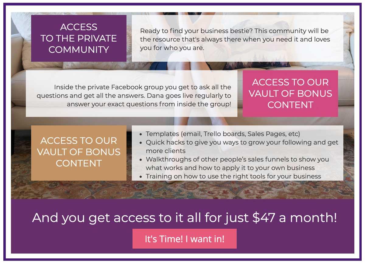 example membership site