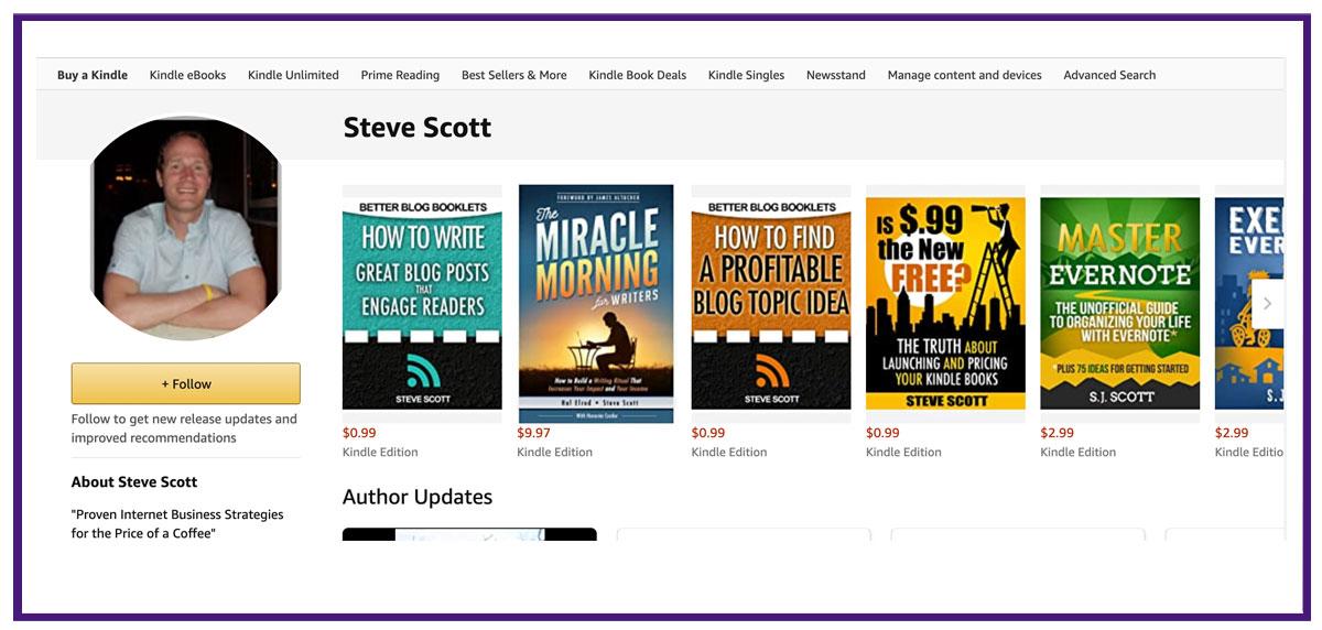 steve scott author