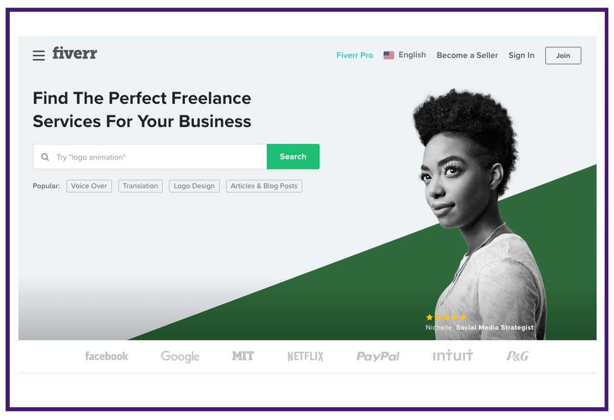 fiverr freelance job