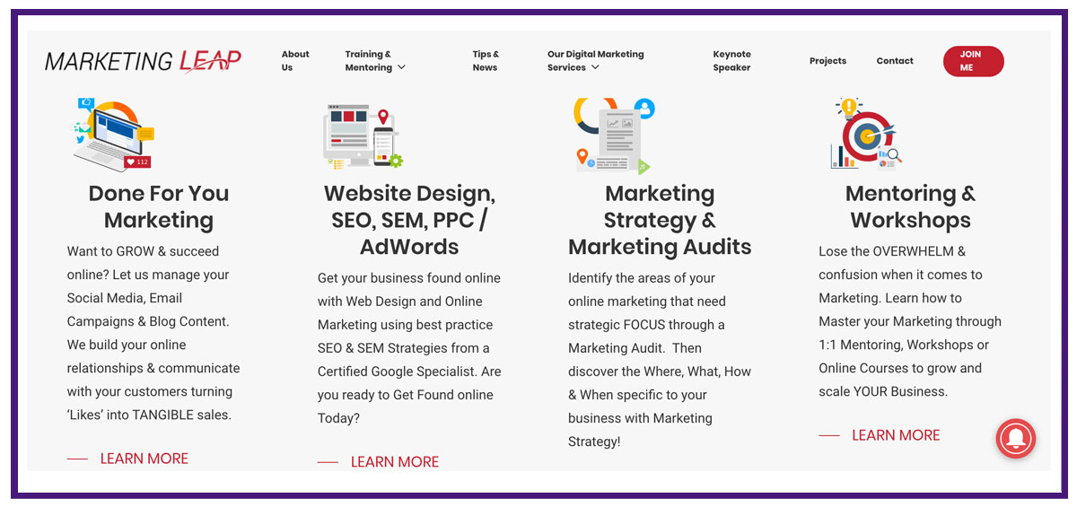 digital marketing agency example