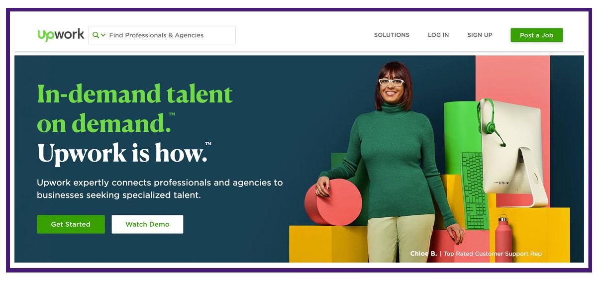 upwork lifestyle business resource