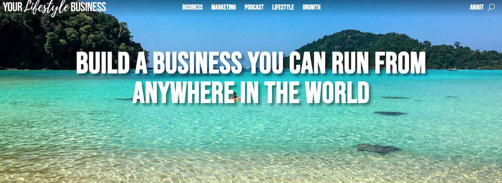your lifestyle business blog
