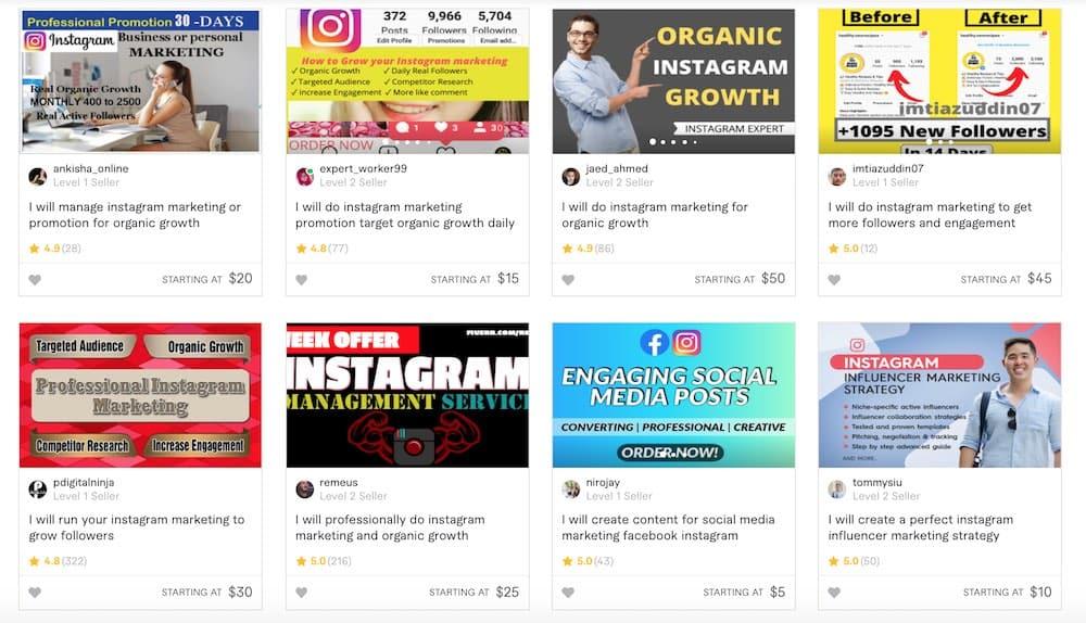 instagram marketers
